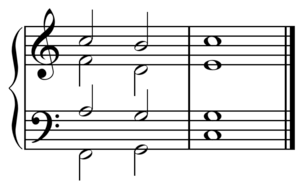 English: Chord progressions. Français : Progre...