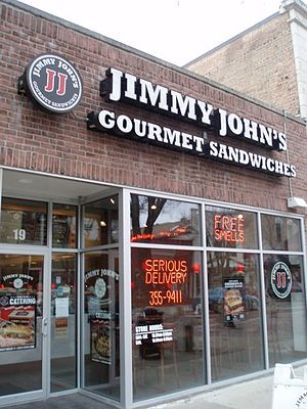 A Jimmy Johns in Naperville, Illinois