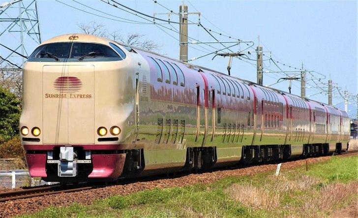 JR西日本285系電車 サンライズ出雲