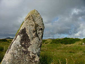 English: King Arthur's Hall late Neolithic or ...
