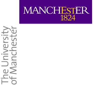 English: Manchester University Logo