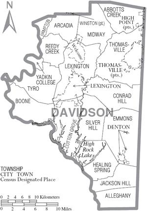 davidson county nc arts council