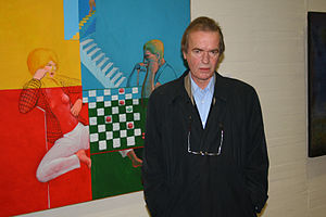 Martin Amis gives a speech in León, in norther...