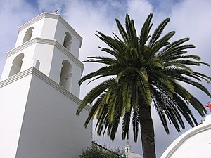 English: Mission San Luis Rey in Oceanside, Ca...