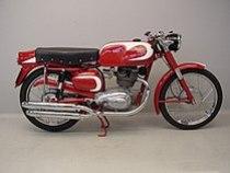 Moto Morini 175 cc Tresette Sprint uit 1958
