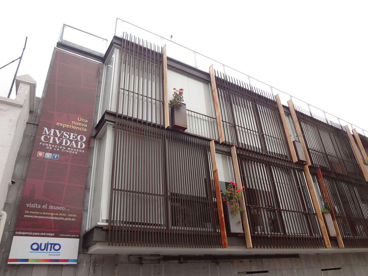 Museo de la Ciudad Quito  Wikipedia la enciclopedia libre