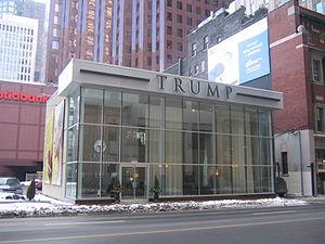 Future site of Trump International Hotel & Tow...
