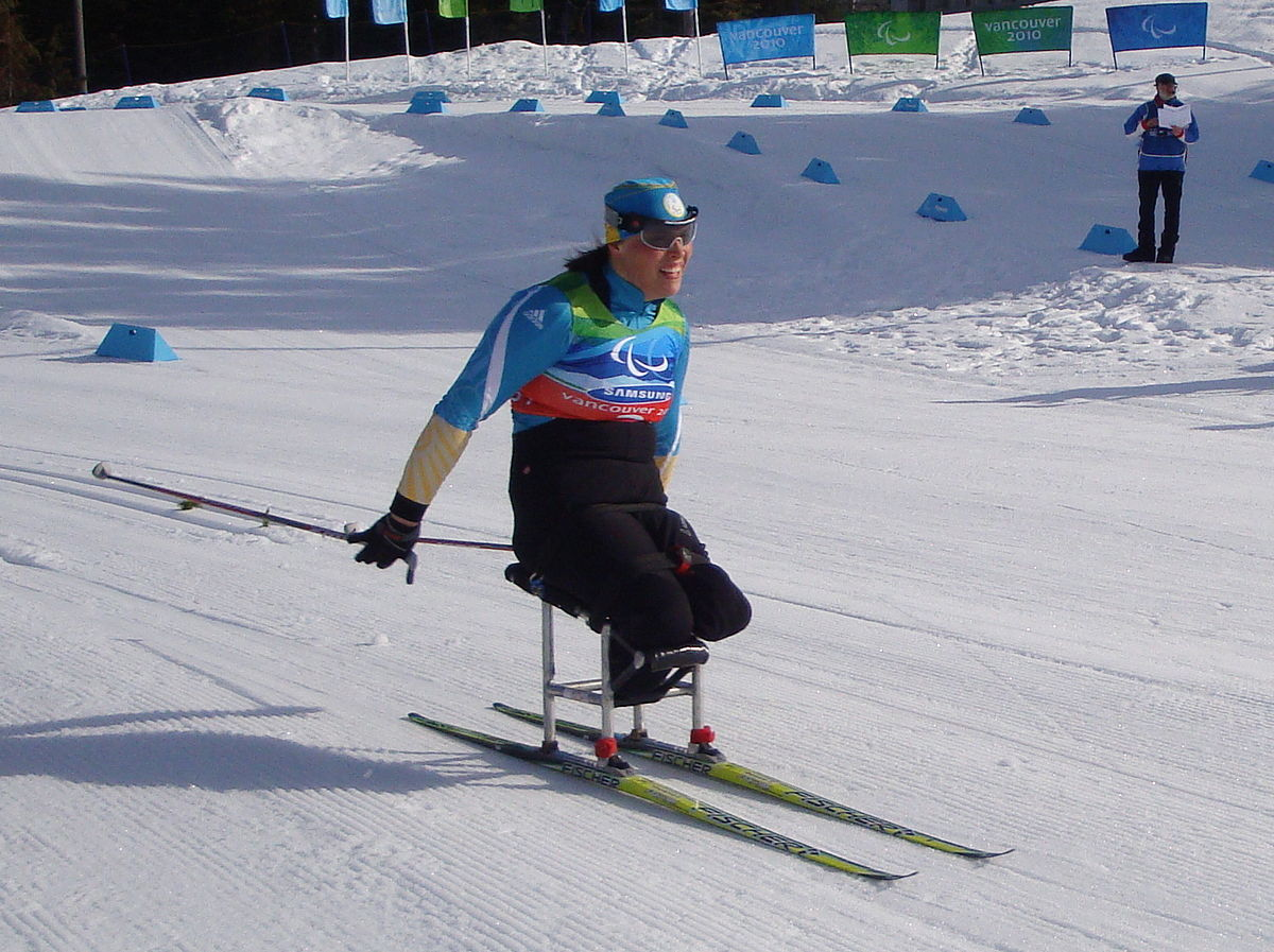 wheelchair skiing how to make chair covers for christmas paralympic nordic wikipedia