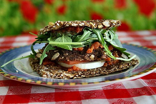 Raw Vegan Veggy Patty