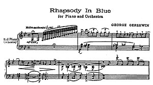 opening bars rhapsody in blue - gershwin