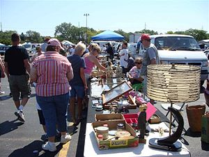 English: Taken at a Chicagoland Flea Market. R...