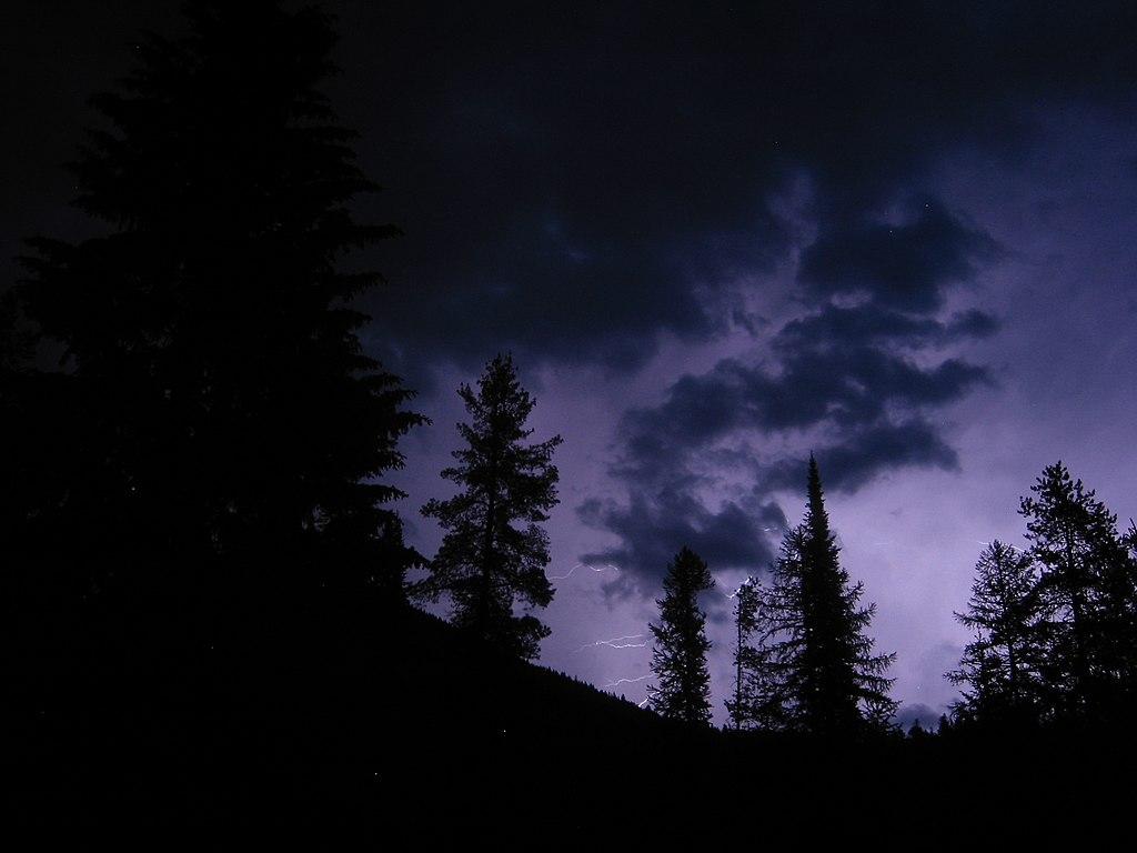 Gloomy Fall Wallpaper File Stormy Night Skies In Glacier 4455539994 Jpg