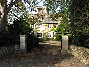 English: The Old Vicarage, Down Ampney On Char...