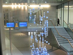 The Source, installed by artists Greyworld int...