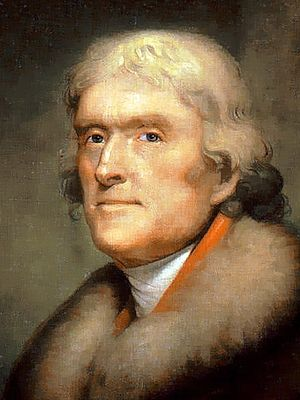 Thomas Jefferson 3x4