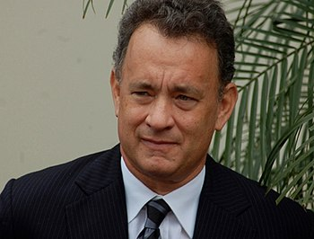 English: Tom Hanks at a ceremony for George Ha...