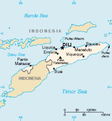 Peta Timor Leste