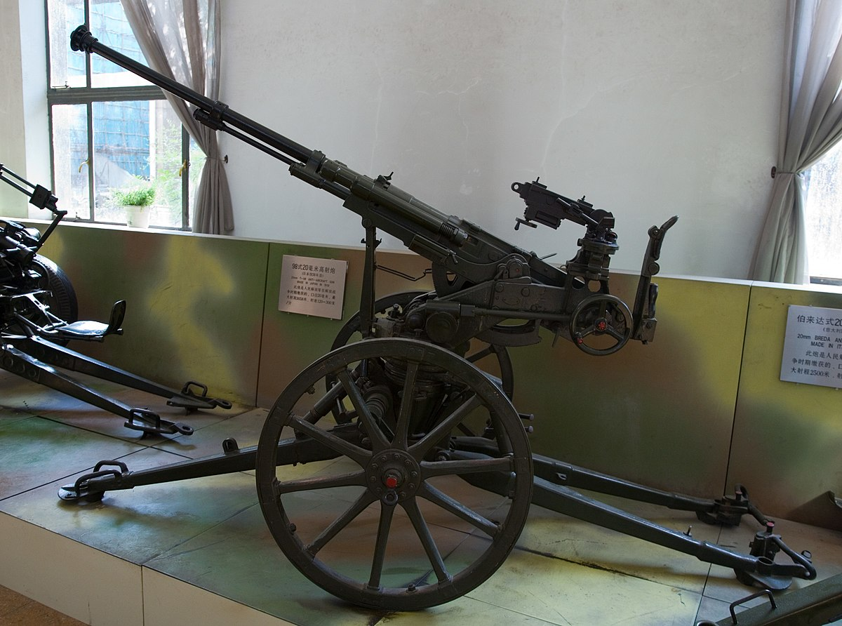 Gun Machine 20mm Cannon