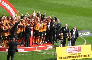 English: Wolves, Football League Champions. Mo...
