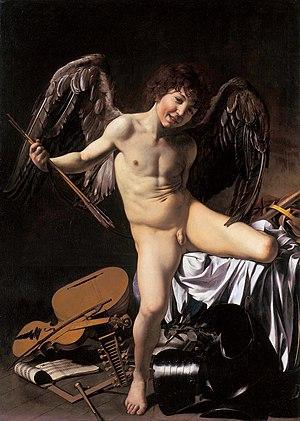 Amor Vincit Omnia. 1601–1602. Gemäldegalerie, ...