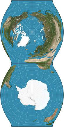 Cassini projection  Wikipedia