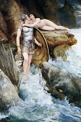 FileCharles Napier Kennedy  Perseus and Andromeda 1890jpg  Wikimedia Commons