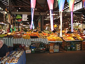 Fruit and vegetables, Fremantle Markets, Frema...