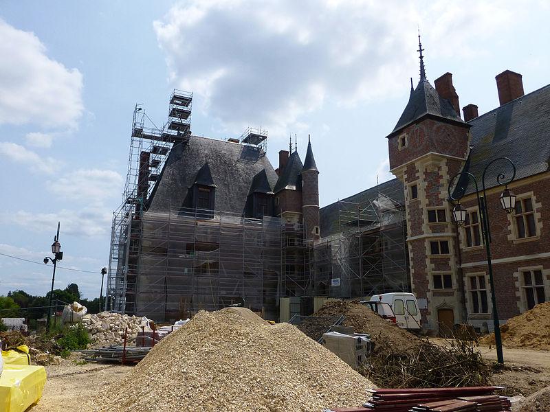 Gien-Château en travaux (2013) (3)