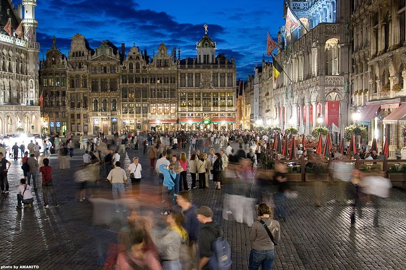The Grand Place, Image Source: Wikipedia
