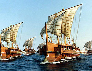 An EDSITEment-reconstructed Greek fleet of gal...