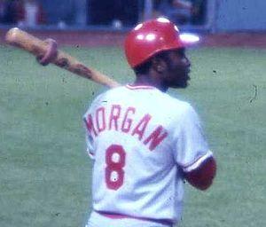 Major League Baseball player Joe Morgan of the...