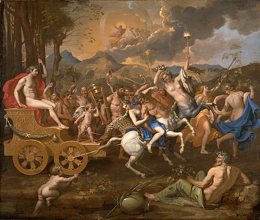 Nicolas Poussin - The Triumph of Bacchus - Google Art Project