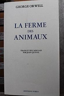 La Ferme Des Animaux Personnages : ferme, animaux, personnages, Ferme, Animaux, Wikipédia