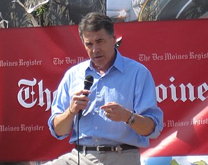 Rick Perry presidential candidate on campaign ...