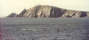 Sumburgh Head. An unusual view of Sumburgh Hea...
