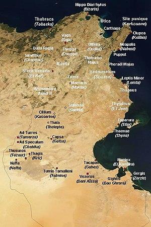 History Of Roman Era Tunisia Wikipedia