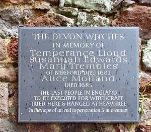 English: A plaque commemorating the last execu...