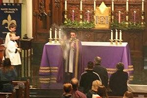 English: St Mary's Church, Greenville SC Adven...