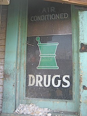 """""""Air Conditioned Drugs"""". Old (c. mid..."""