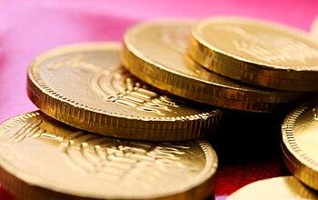 Chocolate coins for Chanukah.