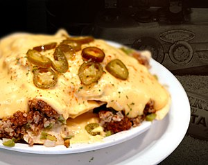 English: Picture of German Nachos I made