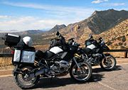 Two BMW R1200GS