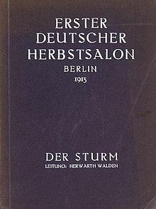 Erster Deutscher Herbstsalon  Wikipedia
