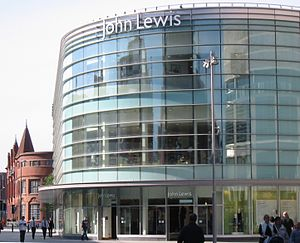 Liverpool One development John Lewis