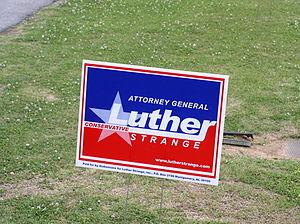 Luther Strange for Alabama Attorney General