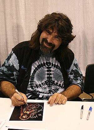 Wrestling hardcore Legend Mick Foley