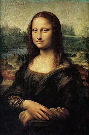 The Mona Lisa (or La Joconde, La Gioconda).
