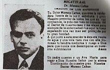 ORACIÓN DEL DR.MORENO CAÑAS