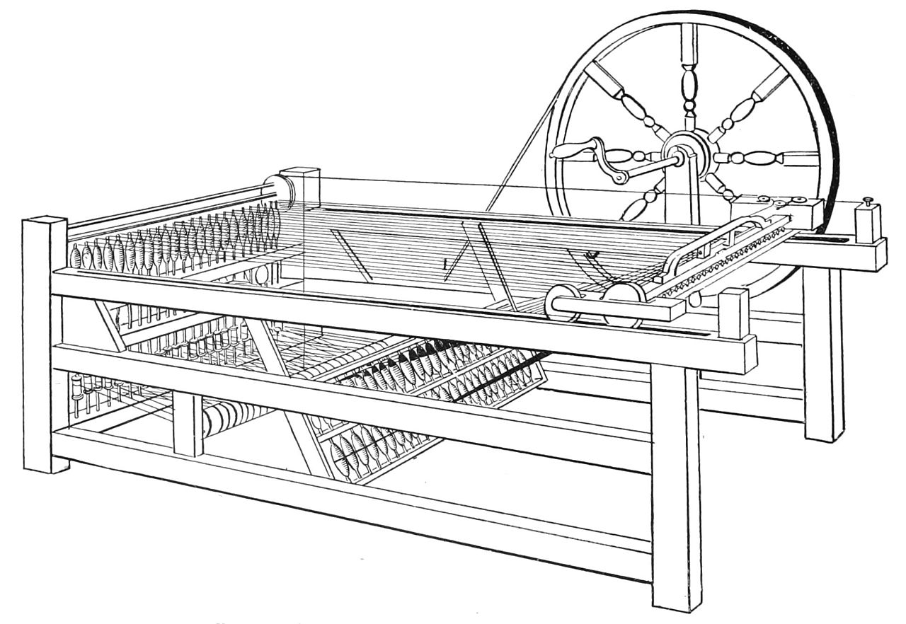 File:PSM V39 D306 Hargreave improved spinning jenny.jpg
