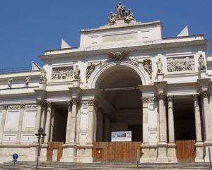 English: Palazzo delle Esposizioni, Rome Españ...